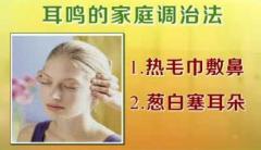 治疗耳鸣的办法是什么