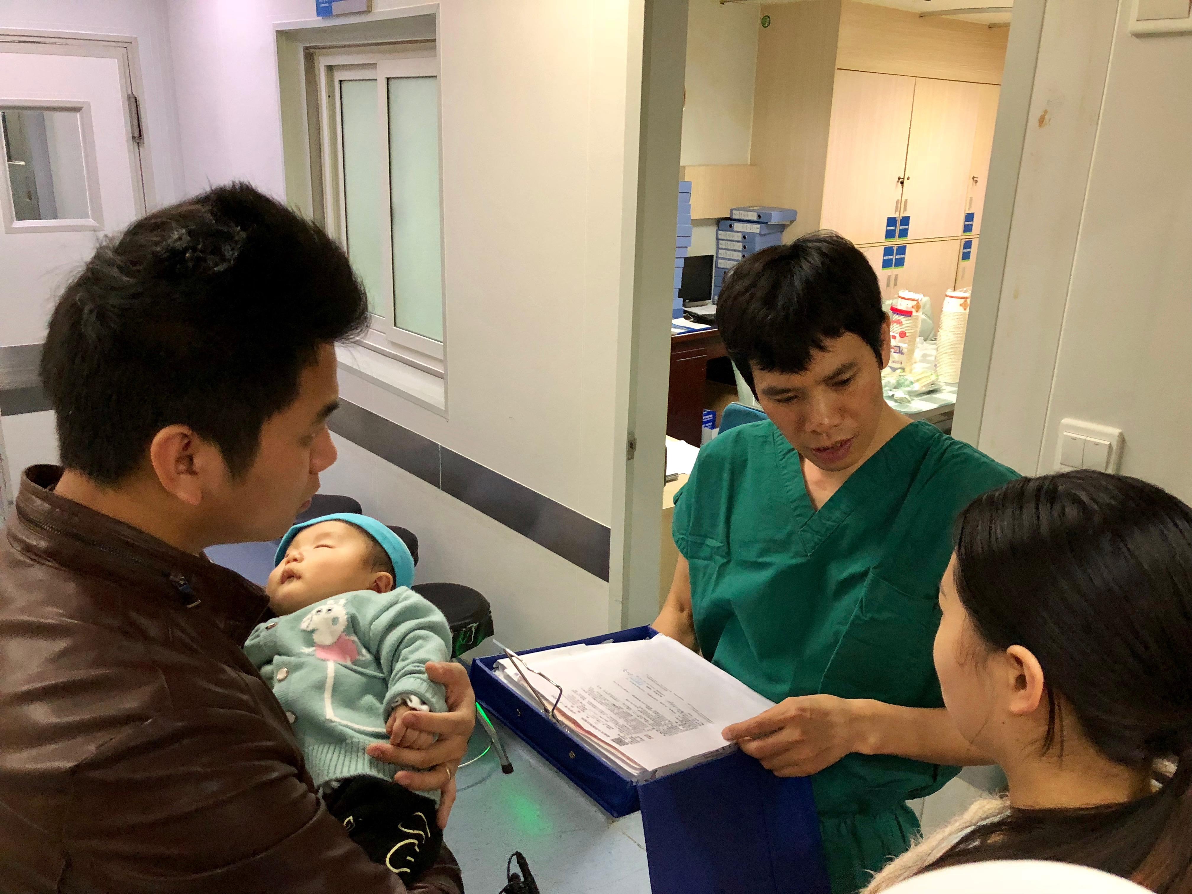 小儿中耳炎治疗康复案例